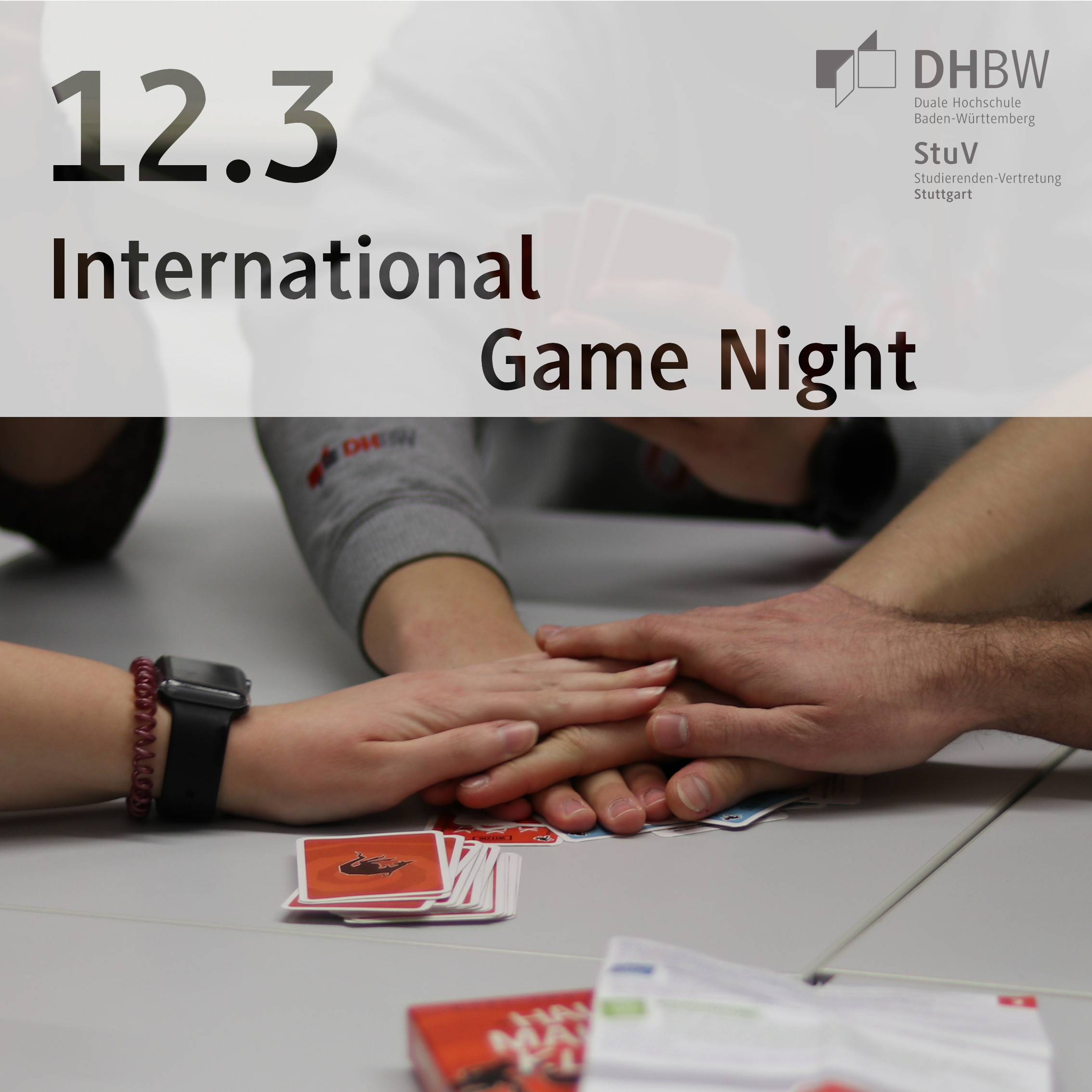 International Game Night March 12
